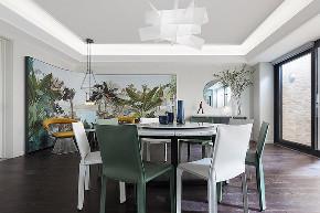 简约 二居 白领 收纳 旧房改造 80后 小资 餐厅图片来自今朝小伟在现代简约风黑白视像缀上明亮色块的分享