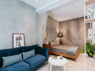 46.2平米开放式小公寓设计