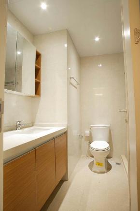 欧式 二居 白领 收纳 旧房改造 80后 小资 卫生间图片来自今朝小伟在欧式 二居室 60.0平米的分享