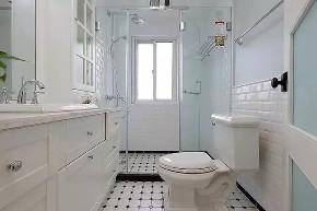 混搭 三居 白领 收纳 旧房改造 80后 小资 卫生间图片来自今朝小伟在110平米现代混搭风格的分享
