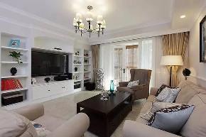 混搭 三居 白领 收纳 旧房改造 80后 小资 客厅图片来自今朝小伟在110平米现代混搭风格的分享