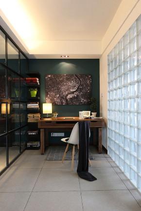 简约 二居 白领 收纳 旧房改造 80后 小资 书房图片来自今朝小伟在简约风格落笔的分享
