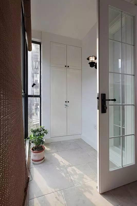 混搭 三居 白领 收纳 旧房改造 80后 小资 阳台图片来自今朝小伟在110平米现代混搭风格的分享