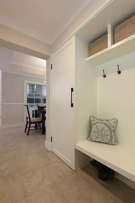 混搭 三居 白领 收纳 旧房改造 80后 小资 玄关图片来自今朝小伟在110平米现代混搭风格的分享