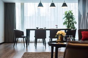 简约 三居 白领 收纳 旧房改造 80后 小资 餐厅图片来自今朝小伟在三空间实景图-120平米-简约风格的分享