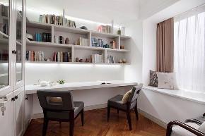 三居 简约 白领 收纳 旧房改造 80后 小资 书房图片来自今朝小伟在简约 三居室 118.0平米的分享