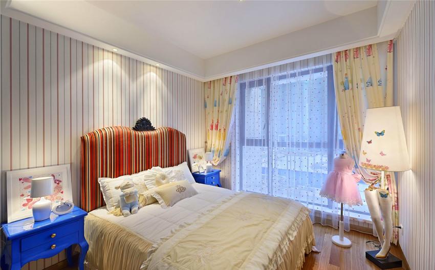 田园 三居 白领 收纳 旧房改造 80后 小资 卧室图片来自今朝小伟在田园 三居室 118.0平米的分享