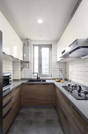 简约 三居 白领 收纳 旧房改造 小资 80后 厨房图片来自今朝小伟在双槐树-110平米-现代简约的分享