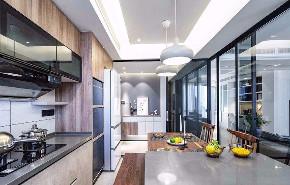 简约 三居 白领 收纳 旧房改造 80后 小资 厨房图片来自今朝小伟在怡海花园-105平米-现代简约的分享