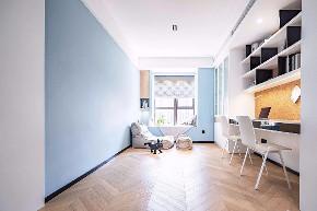 简约 三居 白领 收纳 旧房改造 80后 小资 书房图片来自今朝小伟在怡海花园-105平米-现代简约的分享