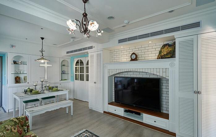田园 三居 白领 收纳 旧房改造 80后 小资 餐厅图片来自今朝小伟在144平米旧房改造田园风格的分享