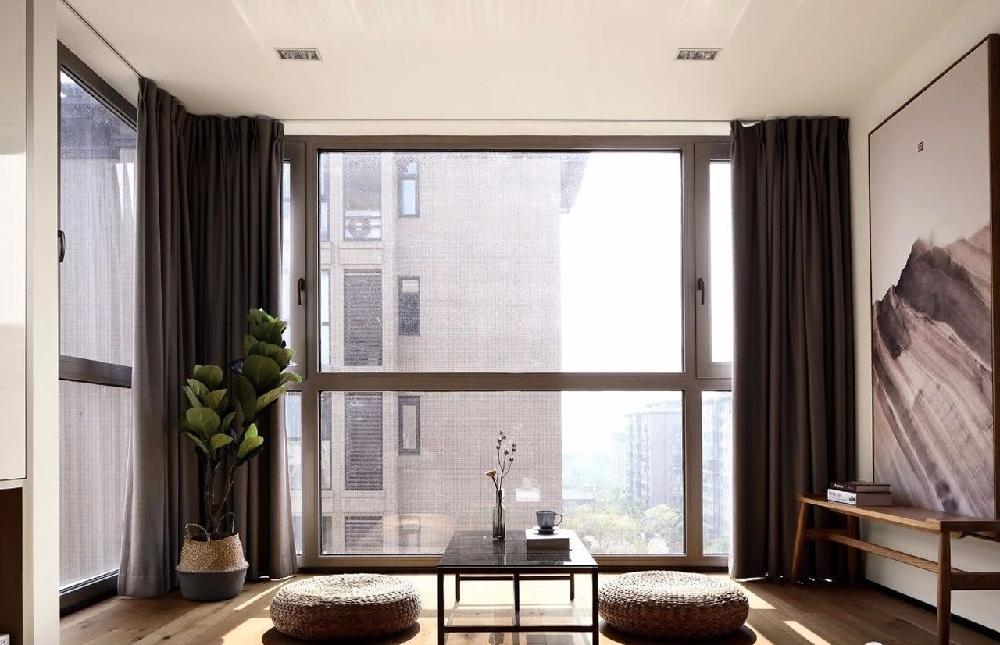 简约 三居 白领 收纳 旧房改造 小资 80后 阳台图片来自今朝小伟在双槐树-110平米-现代简约的分享