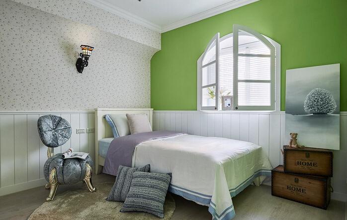 田园 三居 白领 收纳 旧房改造 80后 小资 卧室图片来自今朝小伟在144平米旧房改造田园风格的分享