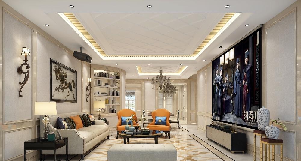 混搭 三居 收纳 白领 旧房改造 80后 小资 客厅图片来自今朝小伟在简欧效果,中式元素完美结合的分享