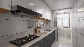 简约 二居 白领 收纳 旧房改造 80后 小资 厨房图片来自今朝小伟在阳光乐府现代简约之家的分享