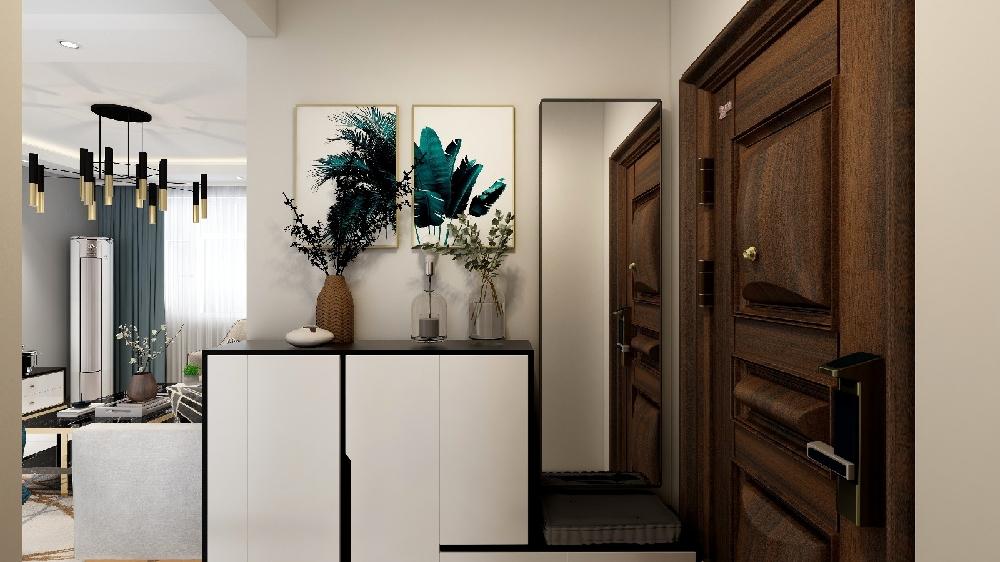 二居 白领 收纳 旧房改造 80后 小资 其他图片来自今朝小伟在77平米菜户营小区现代轻奢风格的分享