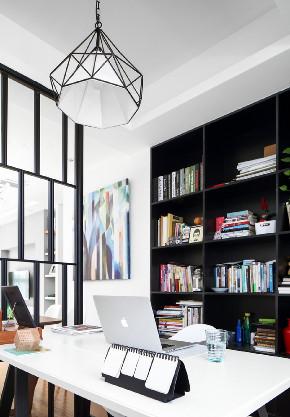 二居 白领 收纳 旧房改造 80后 小资 书房图片来自今朝小伟在110平大两居,生活可以更简单的分享