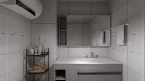 简约 二居 白领 收纳 旧房改造 80后 小资 卫生间图片来自今朝小伟在阳光乐府现代简约之家的分享