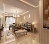 在装饰搭配上,以金黄色和棕色的装饰及色彩衬托出古典家具的高贵与优雅,同时装上能够赋予整个空间古典美感的窗帘和地毯,以及造型古朴的吊灯,空间的韵律感和气场气质就会完美的呈现出来。