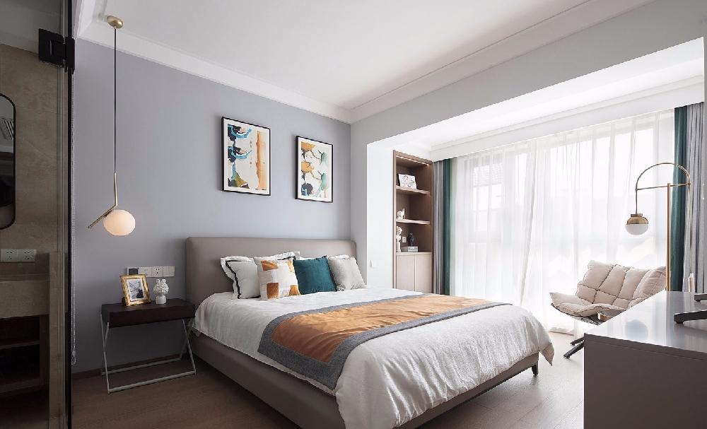 三居 白领 收纳 旧房改造 80后 小资 卧室图片来自今朝小伟在150㎡现代3居室的下午时光的分享