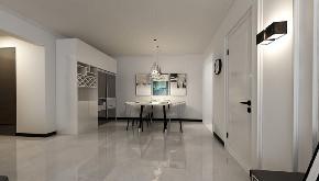 简约 二居 白领 收纳 旧房改造 80后 小资 餐厅图片来自今朝小伟在95平米现代简约风格的分享