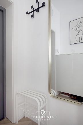二居 旧房改造 收纳 白领 小户型 东交民巷 久栖设计 装修设计 室内设计 玄关图片来自久栖设计在洗手盆营造室内中厅打造格调小窝的分享