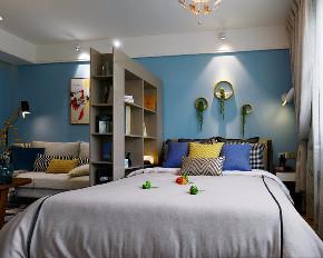 混搭 白领 收纳 旧房改造 80后 小资 客厅图片来自今朝小伟在清新北欧田园混搭一居室的分享
