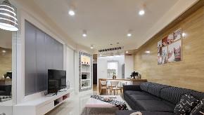 二居 白领 收纳 旧房改造 小资 80后 客厅图片来自今朝小伟在后现代城后现代主义风格文章的分享