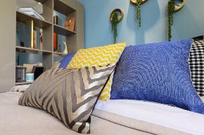 混搭 白领 收纳 旧房改造 80后 小资 卧室图片来自今朝小伟在清新北欧田园混搭一居室的分享