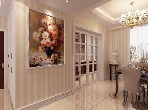 欧式 晋级装饰 小资 玄关图片来自晋级装饰官方在欧式新古典的分享