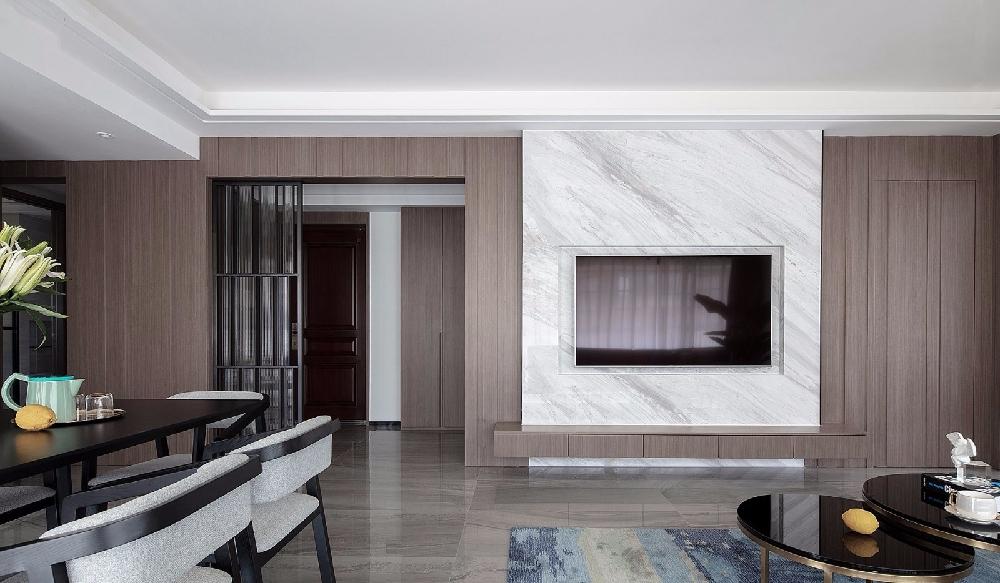 三居 白领 收纳 旧房改造 80后 小资 客厅图片来自今朝小伟在150㎡现代3居室的下午时光的分享