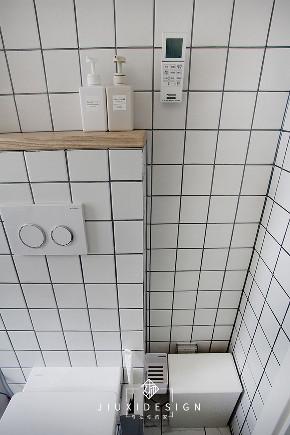 二居 旧房改造 收纳 白领 小户型 东交民巷 久栖设计 装修设计 室内设计 卫生间图片来自久栖设计在洗手盆营造室内中厅打造格调小窝的分享