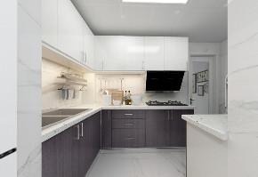 简约 二居 白领 收纳 旧房改造 80后 小资 厨房图片来自今朝小伟在95平米现代简约风格的分享