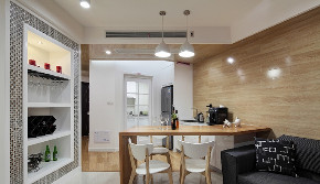 二居 白领 收纳 旧房改造 小资 80后 餐厅图片来自今朝小伟在后现代城后现代主义风格文章的分享