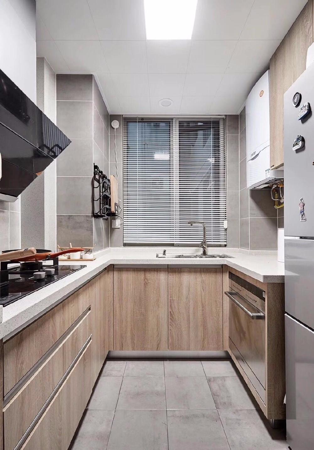 简约 二居 白领 收纳 旧房改造 80后 小资 厨房图片来自今朝小伟在清新淡雅的休闲慢调小家的分享