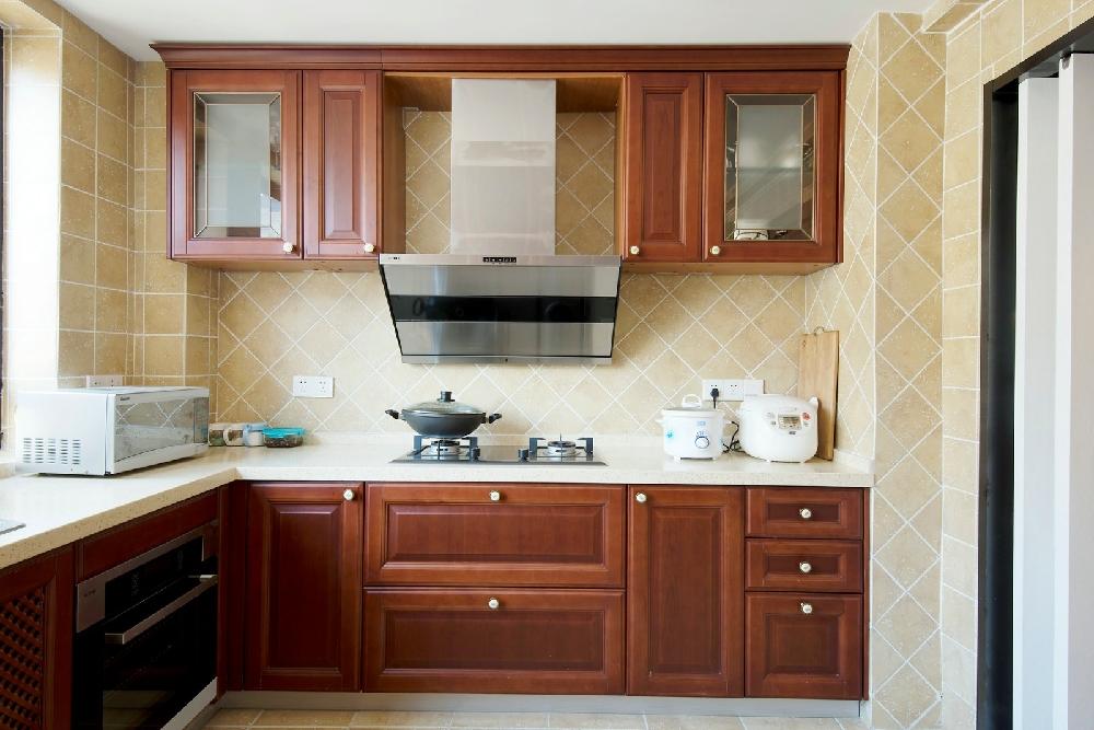 田园 三居 白领 旧房改造 小资 收纳 80后 厨房图片来自今朝小伟在美式田园的分享