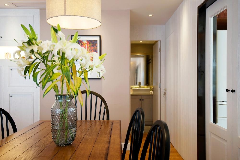 田园 三居 白领 旧房改造 小资 收纳 80后 餐厅图片来自今朝小伟在美式田园的分享