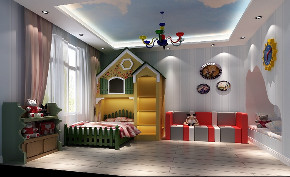 简约 二居 白领 收纳 旧房改造 80后 小资 儿童房图片来自今朝小伟在简单的装修,温暖的家的分享