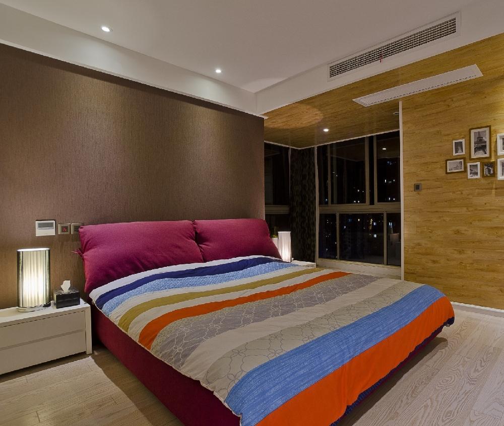 简约 二居 白领 收纳 旧房改造 80后 小资 卧室图片来自今朝小伟在现代简约,原木色生活文章的分享