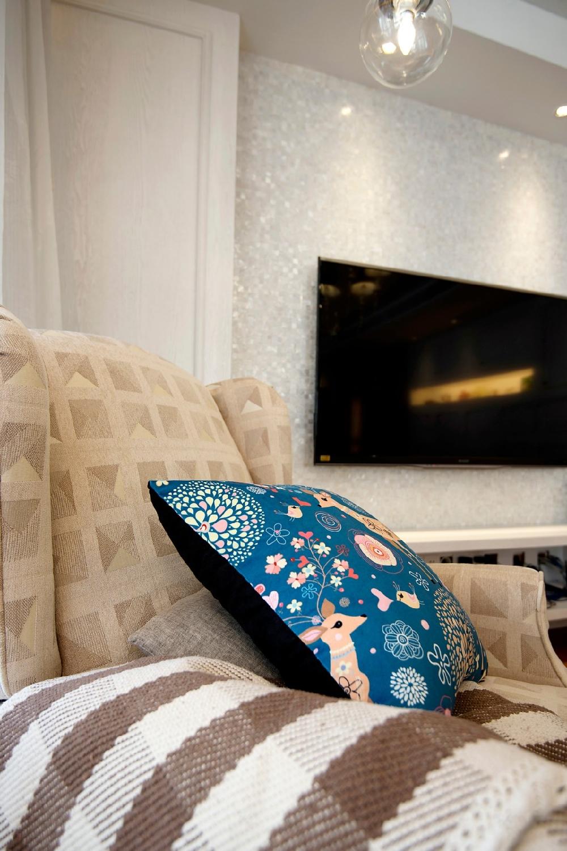 田园 三居 白领 旧房改造 小资 收纳 80后 卧室图片来自今朝小伟在美式田园的分享