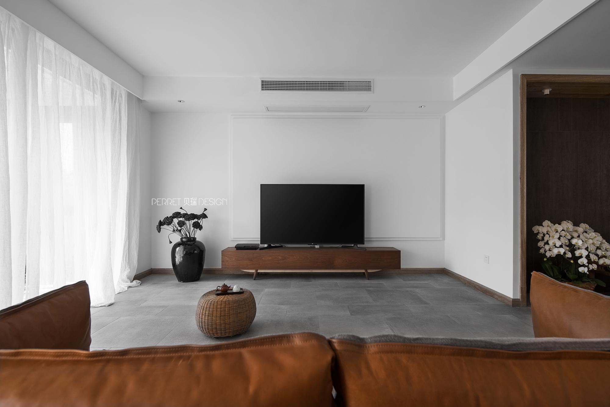 客厅 禅意空间 苏州设计师 贝瑞设计 客厅图片来自展小宁在我心素已闲—禅意的佛系居所的分享
