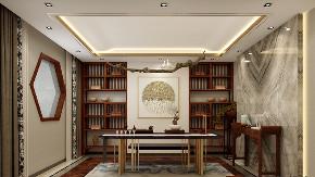 三居 白领 收纳 旧房改造 80后 小资 书房图片来自今朝小伟在中式效果和现代社会完美结合的分享