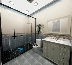 简约 三居 白领 收纳 旧房改造 80后 小资 卫生间图片来自今朝小伟在120平米极简风格的分享
