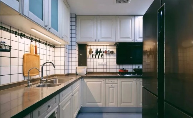 二居 白领 收纳 旧房改造 80后 小资 厨房图片来自今朝小伟在简约北欧风的分享