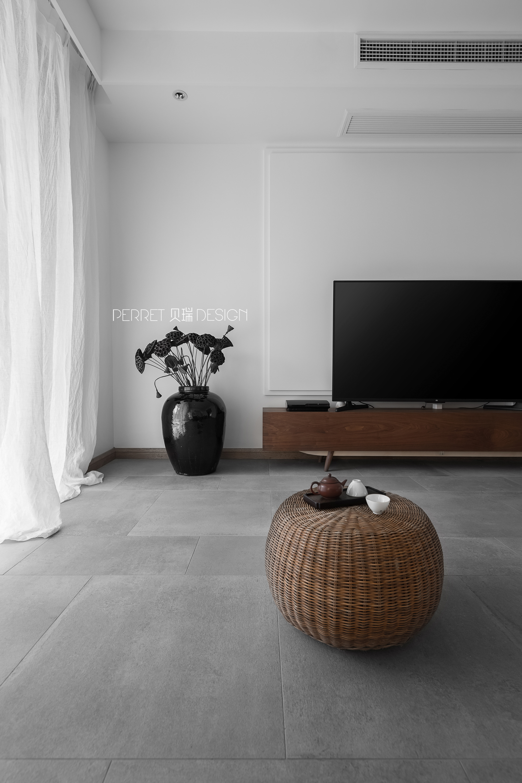 客厅 禅意空间 苏州设计 贝瑞设计 客厅图片来自展小宁在我心素已闲—禅意的佛系居所的分享
