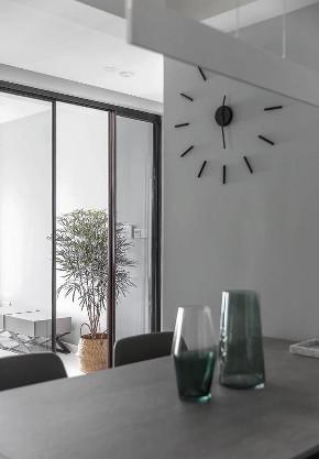简约 三居 白领 收纳 旧房改造 80后 小资 餐厅图片来自今朝小伟在现代简约三居的分享