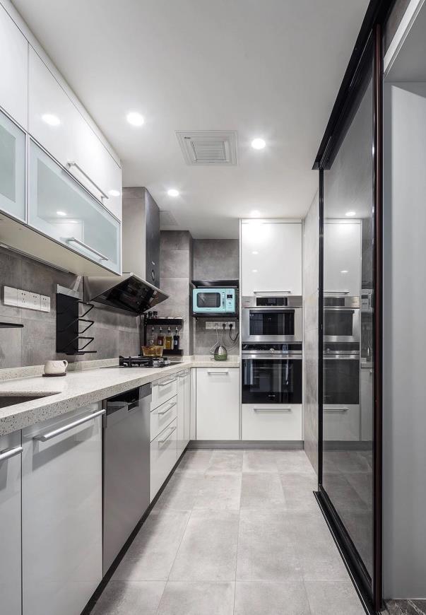 简约 三居 白领 收纳 旧房改造 80后 小资 厨房图片来自今朝小伟在现代简约三居的分享