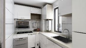 二居 白领 收纳 旧房改造 80后 小资 厨房图片来自今朝小伟在60平米两居的新改革的分享