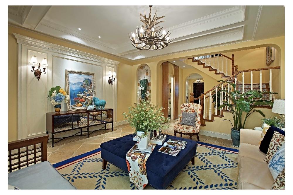 田园 二居 白领 收纳 旧房改造 80后 小资 客厅图片来自今朝小伟在地中海田园格调氛围空间的分享
