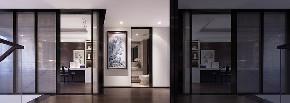 三居 白领 收纳 旧房改造 80后 小资 玄关图片来自今朝小伟在138平米的宜居环境,新中式的分享